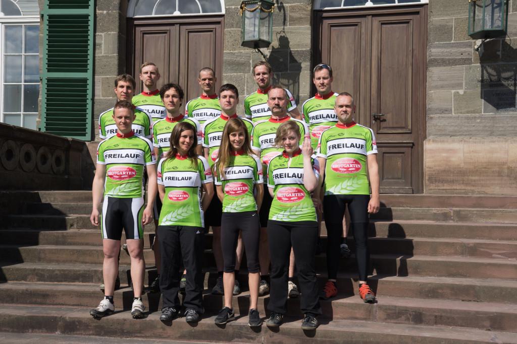 Brotgarten Team FREILAUF 2015